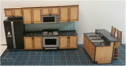 1:24 Scale Kitchen